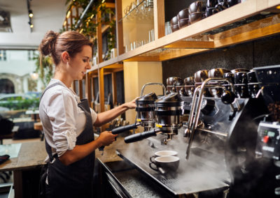 Barista at work | Kaffeeothek