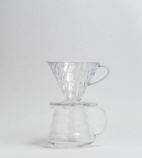 V60-02, Plastic Dripper, clear-4