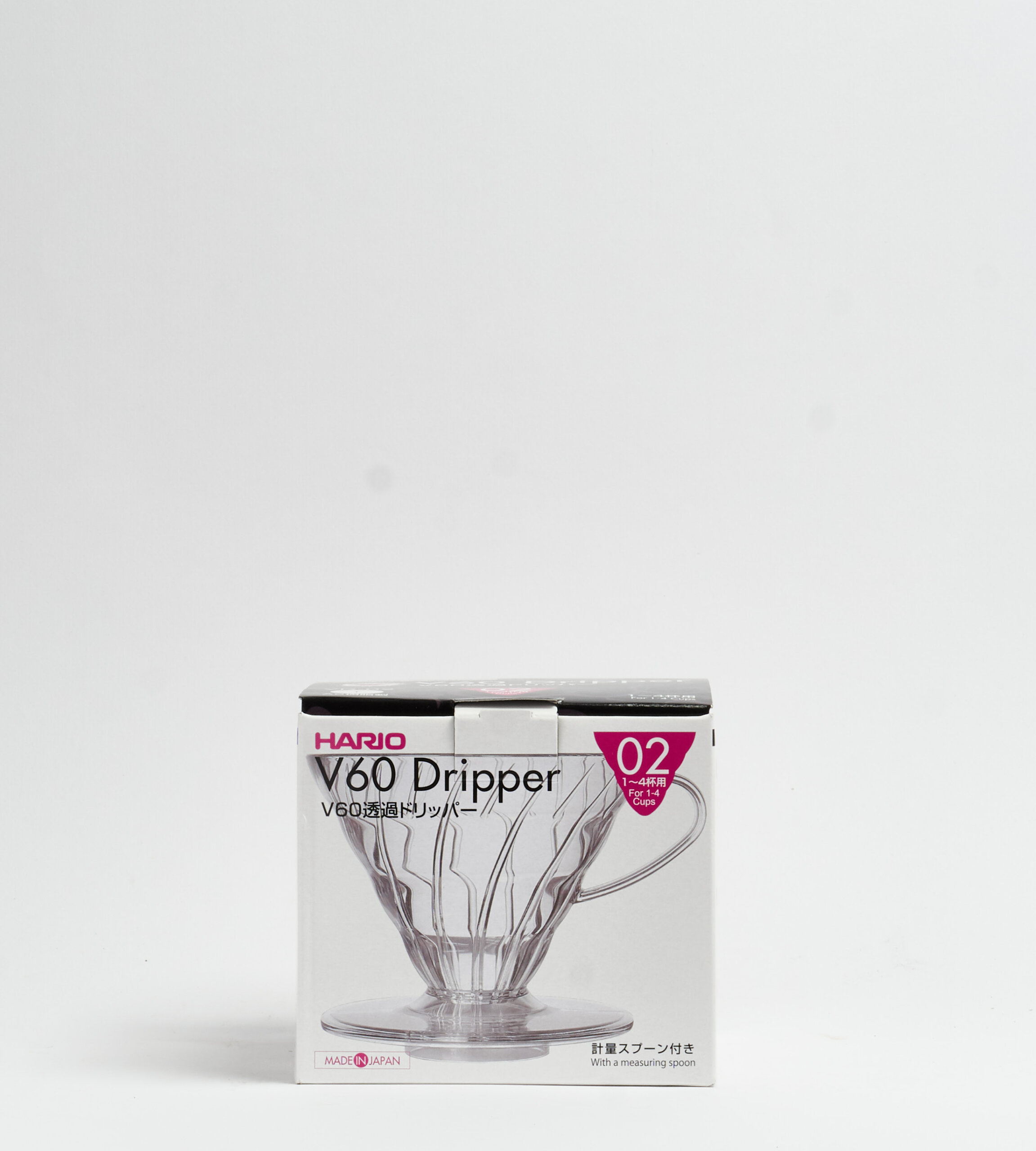 V60-02, Plastic Dripper, clear-prev-4