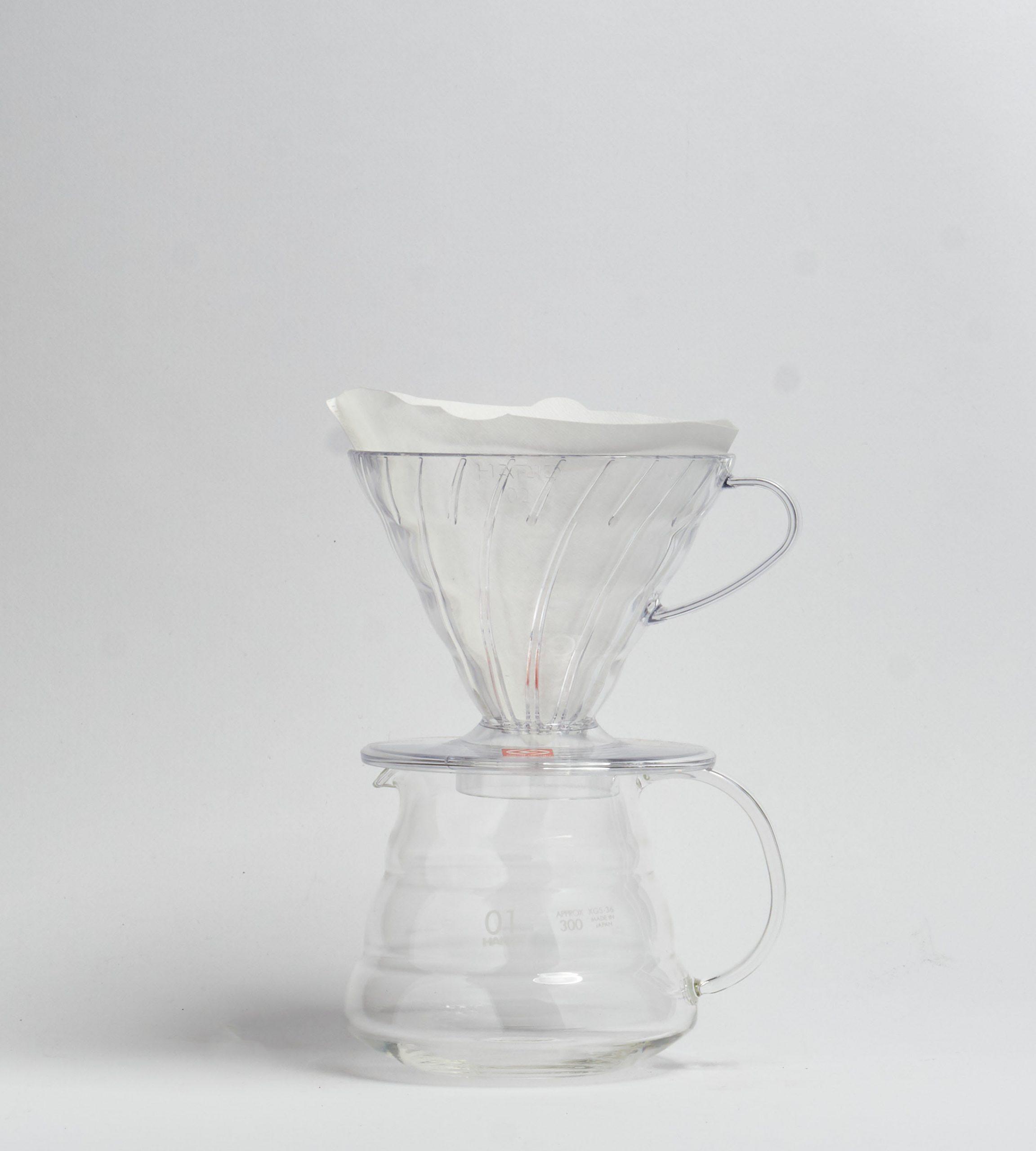 V60-02, Plastic Dripper, clear-prev-5