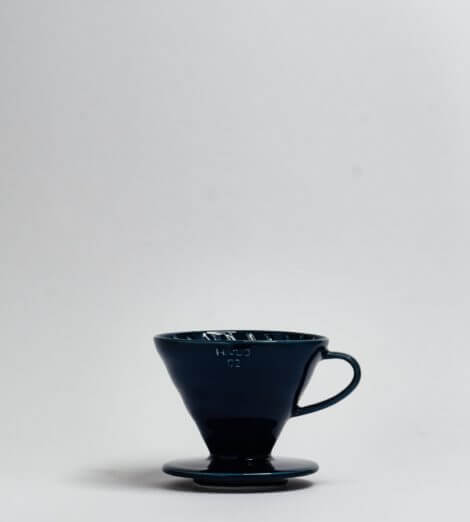 V60-02, Ceramic Dripper, indigo blue