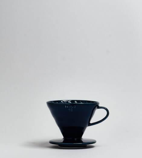 V60-02, Ceramic Dripper, indigo blue-1