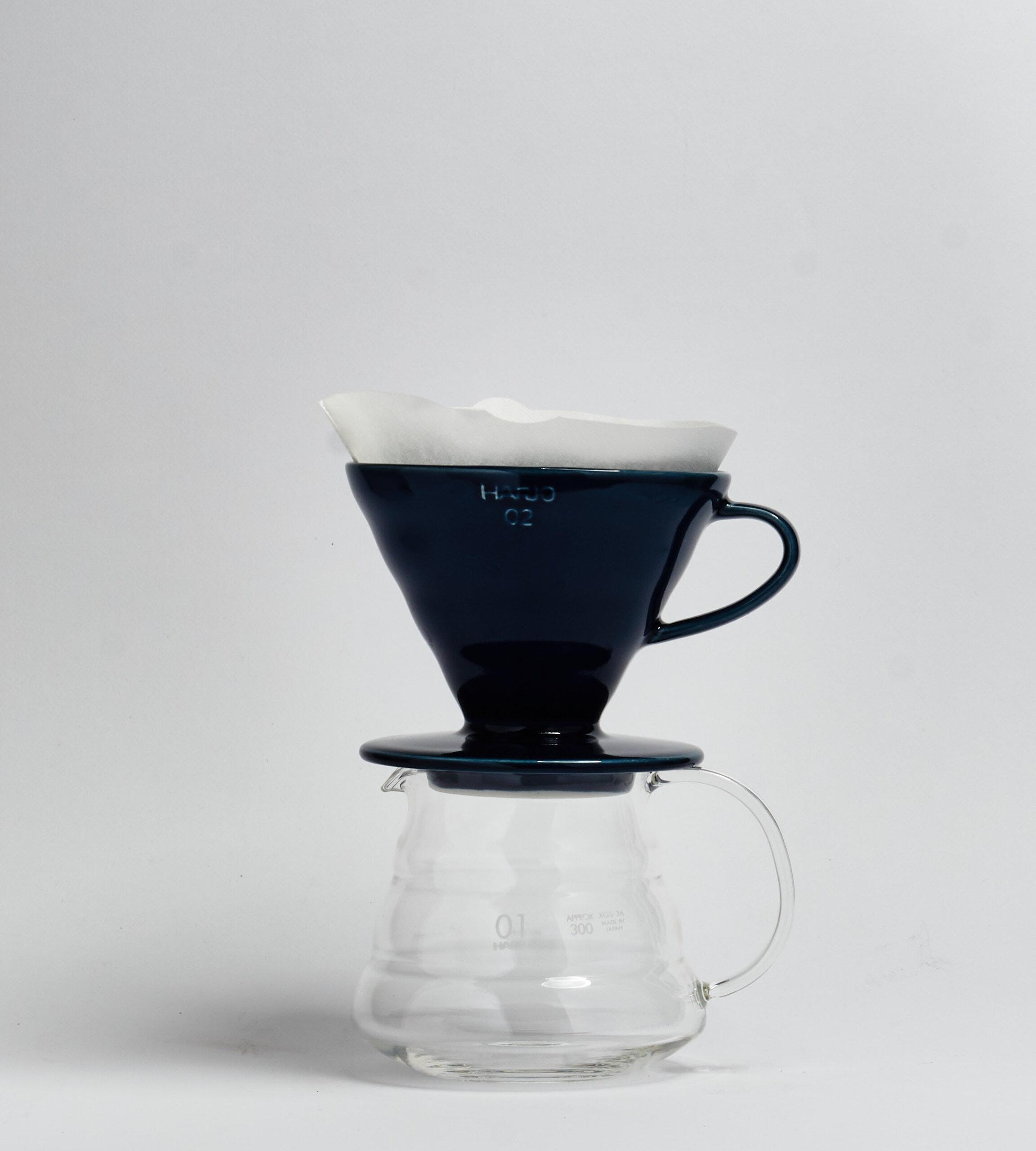 V60-02, Ceramic Dripper, indigo blue-prev-3