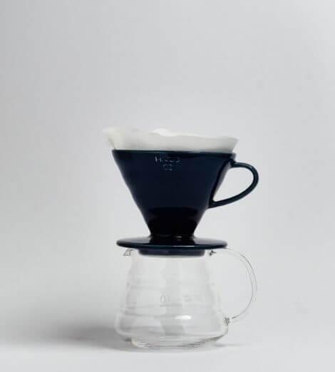 V60-02, Ceramic Dripper, indigo blue-4
