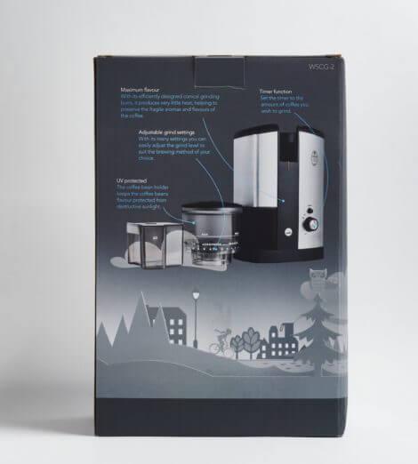 Svart, Elektrische Filterkaffeemühle-5