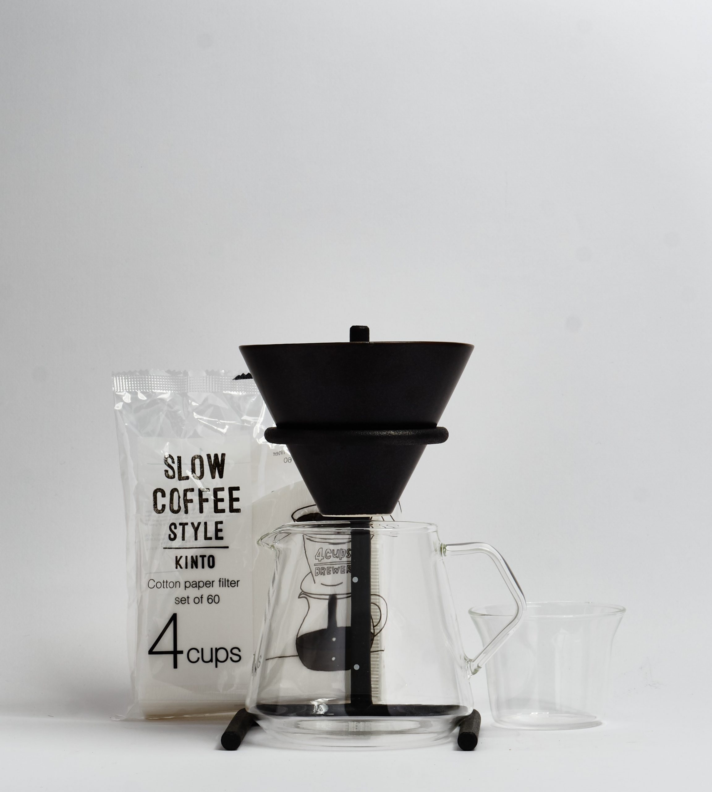 Slow Coffee Style, Filter Set, 4 cups-prev-1