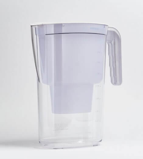 Vida manual, Tischwasserfilter