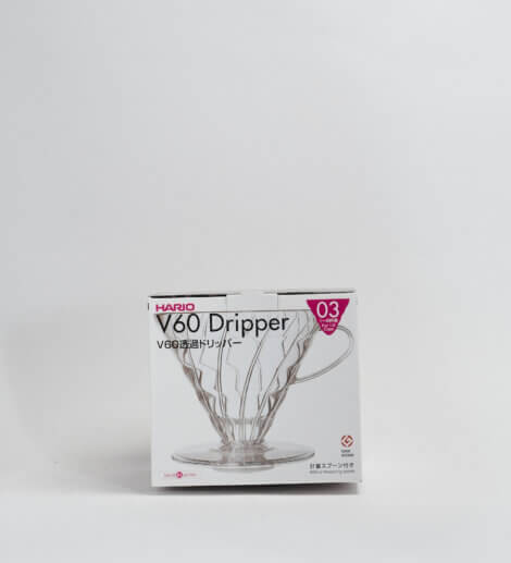 V60-03, Plastic Dripper, clear-3