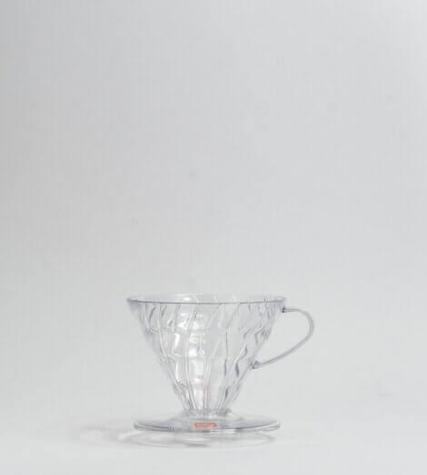 V60, Plastic Dripper, clear